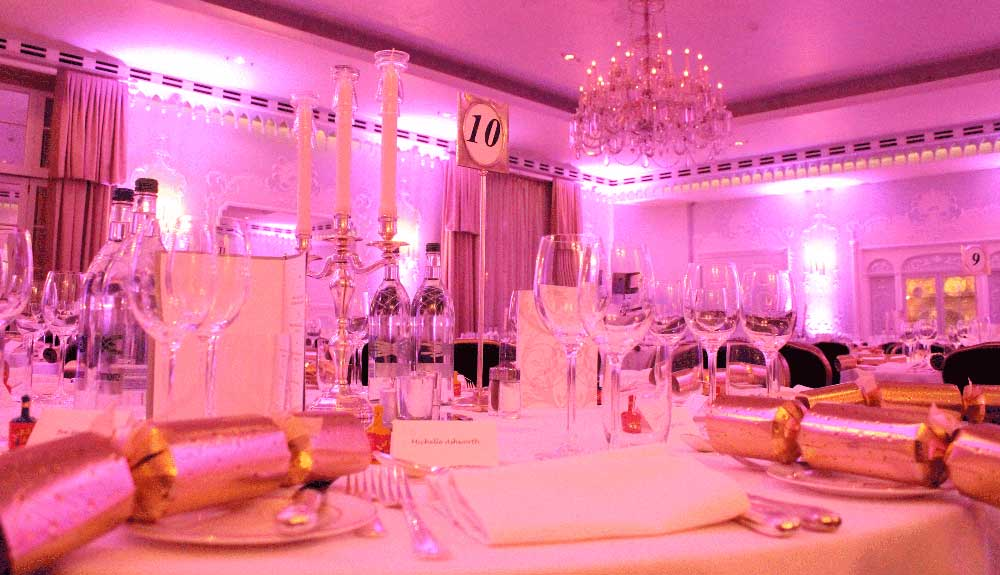 Christmas dinner dance at the dorchester