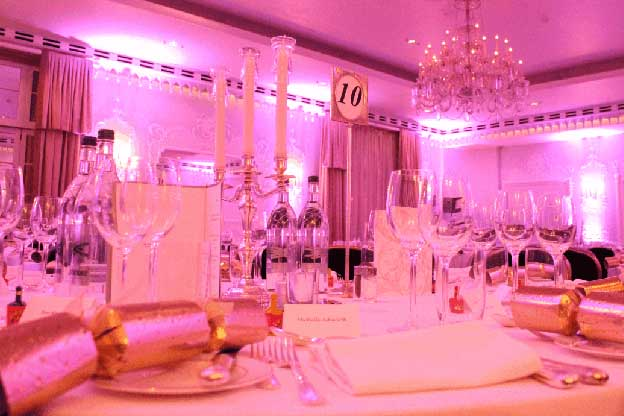 Christmas Dinner dance at the Dorchester London